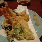 芝楽 - 料理写真:天ぷら