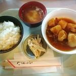 のげやま - ランチセット(肉じゃが)