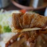 安楽食堂 - ボクは、焼肉ロールにして食べます。
