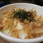 焼肉鶴亀堂 - ねぎ飯400円(ねぎ&鰹節ライス)