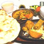 インドレストラン Shama - インド料理のフルコースShamaセット ¥2800