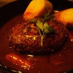 昭和レトロ飲食店 ゴーゴー食堂 - 煮込みハンバーグ