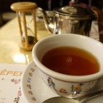 クレープリー・アルション - お茶セット