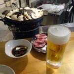 まーさん - 生ビールが合います