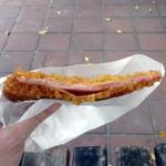 栄屋肉店 - ハムカツ120円
