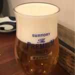 日本酒バル JINSUKE - ビール。