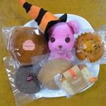 ザ・フルーツコレクション花梨 - マドレーヌ、チョコレートクッキー、アーモンドクッキー、バターケーキ、カップケーキの5個入り
