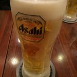 ラーメン横綱 桂麺房 - ビール