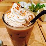 gelato pique cafe bio concept - アイスバニララテ