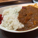 カフェ カレー王国 - ビーフカレー ¥900 ライス大盛 ¥100