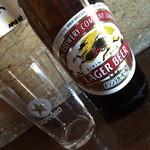 中村屋酒店 - ドリンク写真:ビール中瓶(300円)