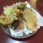 にぎり海鮮うみない - 天ぷら野菜盛り