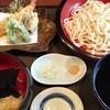 やまき - 料理写真:小どんぶりと天ぷらざるうどん 1800円