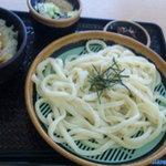 4420833 - ざるうどん並+ミニ天丼