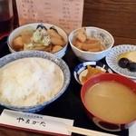 田舎料理 やまがた - 「里イモ煮定食 (950円)」
