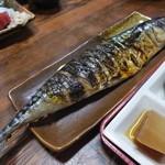 44205271 - ランチの焼き魚 鯖の半身です