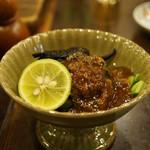 奈良田本店 - 岩茸の酢味噌和え(518円)