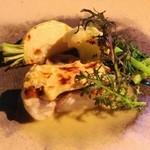 O・mo・ya - 鯛のポアレ里芋のみそ焼き ブールブラウソース!!(´艸`*)