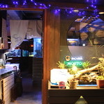 BLUE FISH AQUARIUM - お店の入り口!!(^o^)/
