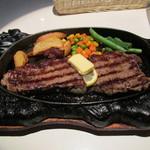 名護そば まきし食堂 - サーロインステーキ(200g)1,100円