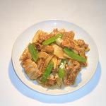 東光飯店 - 筍炒肉片(豚肉と竹の子の炒め)