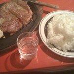 アミーゴ 錦糸町店 - 1ポンドステーキ