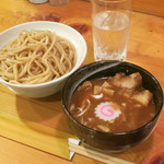 橘家 - 濃厚つけ麺(並)800円