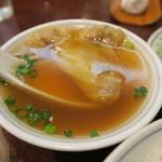 中国料理 慶福楼 - ワンタンスープ