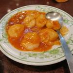 中国料理 慶福楼 - エビチリ