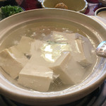 嵯峨野 - 湯豆腐