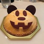 銀座コージーコーナー - ハロウィン限定ミッキーマウスのパンプキンケーキ