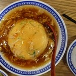 彩華ラーメン - 天津飯