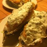 串かつ 山吹 - 牡蠣フライ