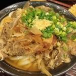 うどん 丸香 - 肉うどん(中)
