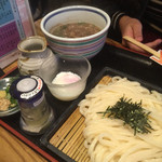 うどん屋 山善 - 和牛肉つけ麺