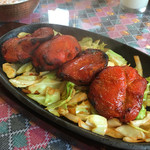 インドレストラン&バー・クリスナパレス - チキンティッカ4本850円