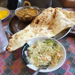インドレストラン&バー・クリスナパレス - チキンキーマカリー800円