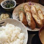 柳ばし - ササミチーズカツ