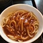 ますき神明店 みむら - ミートソーススパゲッティー