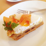 M:カフェ - 柿梨タルト
