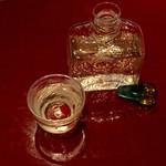 蕎麦 たかま - ガラス容器が美しい