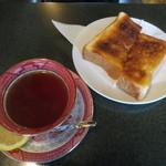 浜喫茶店 - レモンティーとトースト