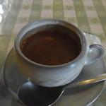 シャレー - Aセット(680円)のスープ