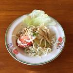 カフェ・ドンキホーテ - ハンバーグランチのサラダです
