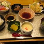 海鮮料理 きとら - きとら特製定食 1500円