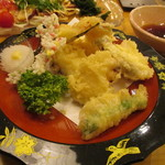 海鮮料理 きとら - たこの天ぷら 880円