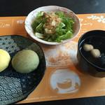 ニーニャニーニョ桜小町 - 薬膳スープ、サラダ、和パン