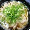 天政 - 料理写真:肉うどん。キレイ!安い!早い!旨い!