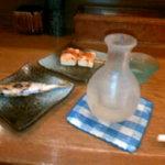 むさし - 解禁の天然鮎と豆腐巻き、日本酒はくどき上手の純米吟醸(6/20)
