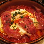Cafe DRAPERIE - トマトとパプリカのグリル